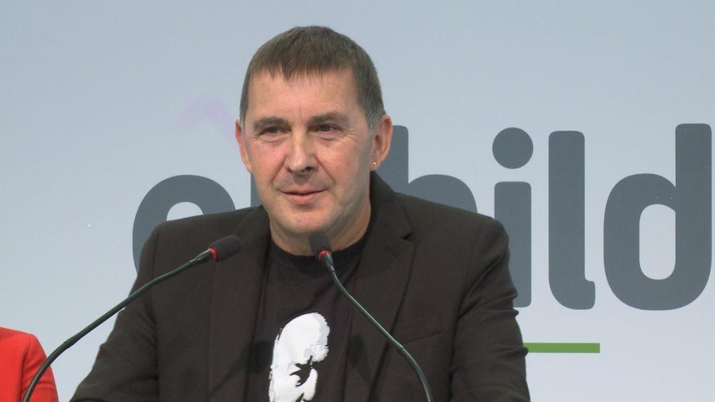 Otegi pide un pacto de todas las «fuerzas antifascistas» para frenar a las «derechas» en las próximas generales
