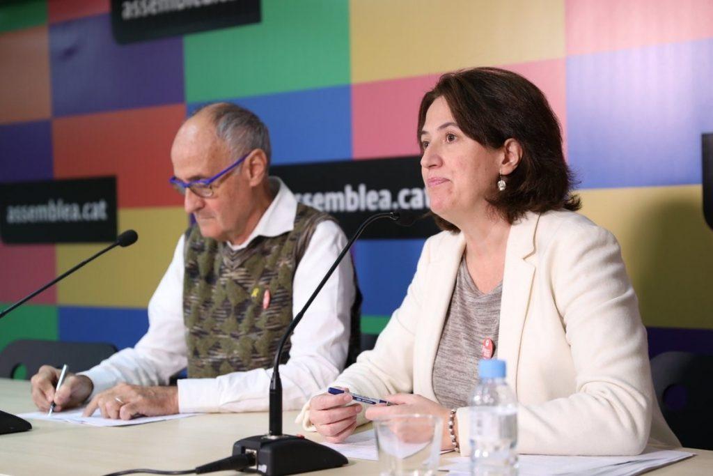 La ANC se integra en el Consell per la Republica y pide una lista unitaria para las europeas