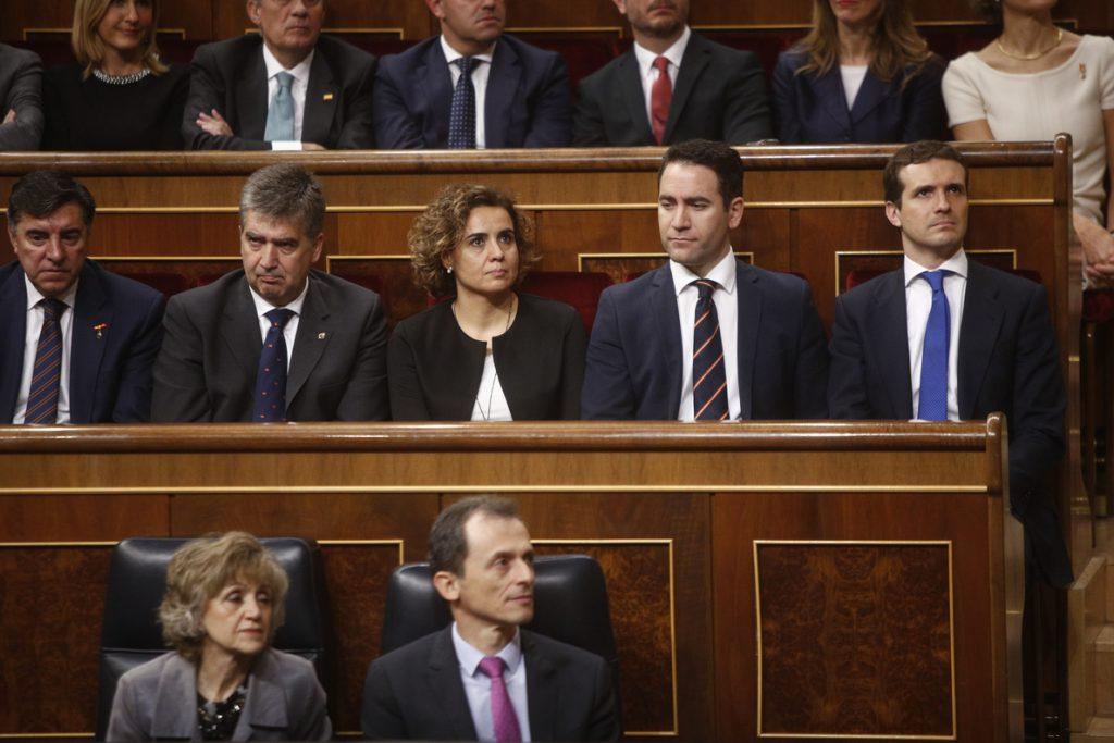 Casado aconseja a Rivera dirigirse al centro-izquierda para que PP y Cs sumen mayoría absoluta en «seis meses o un año»