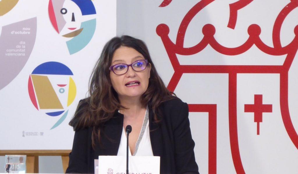 Oltra condena el escrache a Valls: «No comparto sus ideas pero voy a defender siempre su derecho a expresarlas»