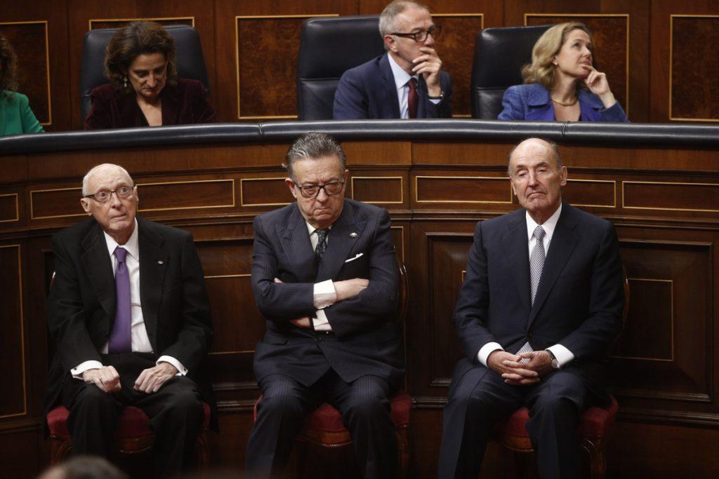 Pérez-Llorca lamenta que ahora haya un clima de crispación en la política española que no había en 1978