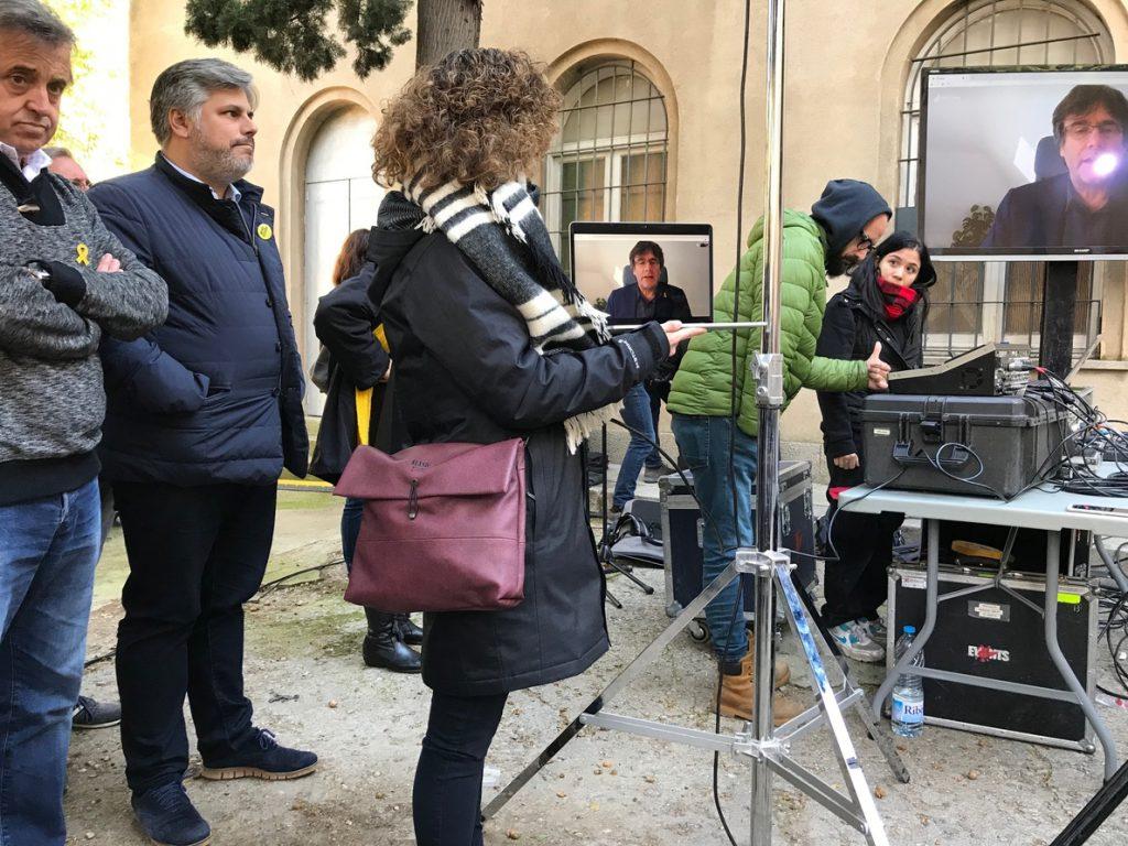 Puigdemont rechaza una Constitución porque es una herramienta «caduca y de represión»