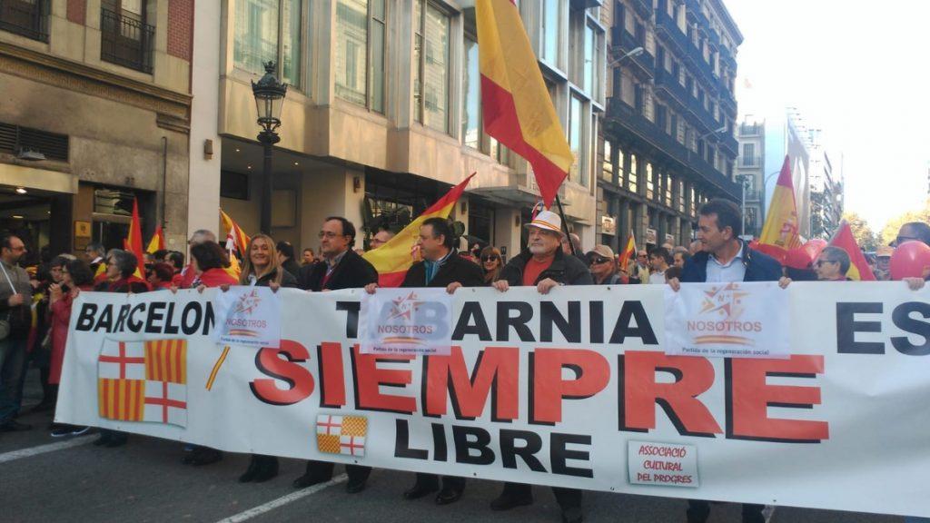 SCC, a los manifestantes del 6D: «Sois el ejército más importante para vencer al nacionalismo»