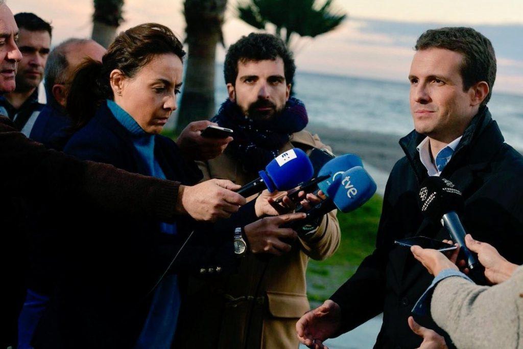 Casado exige a Sánchez frenar ya la «kale borroka independentista» con otro 155: «Cataluña está fuera de sí»