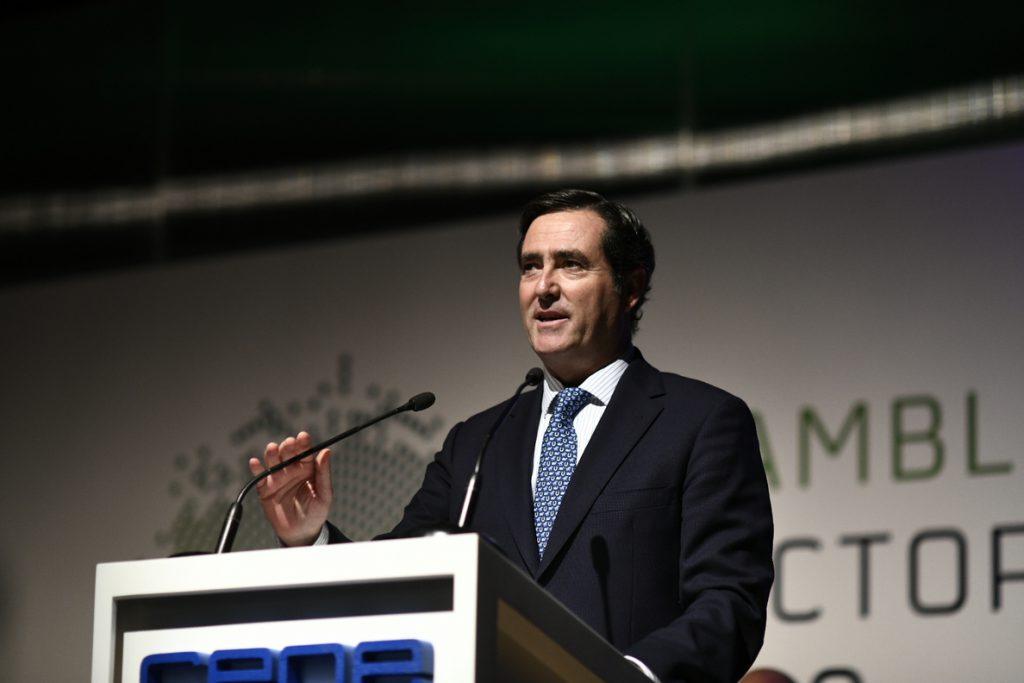 Garamendi (CEOE) apela a «no pasarse de frenada» y pide al Gobierno «rigor, eficacia y eficiencia» en los PGE