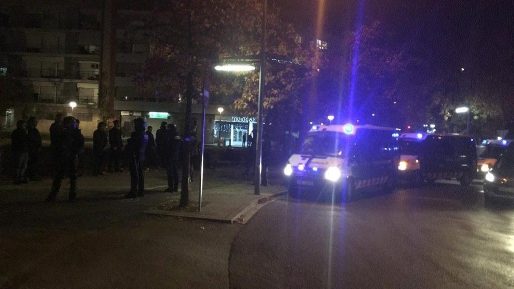 Libertad con cargos para dos miembros de CDR detenidos en los altercados de Tarrasa (Barcelona)