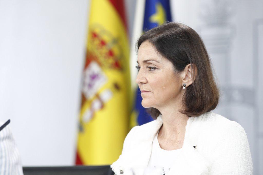 Reyes Maroto afirma que los próximos días «van a ser claves» para el futuro de las plantas de Alcoa