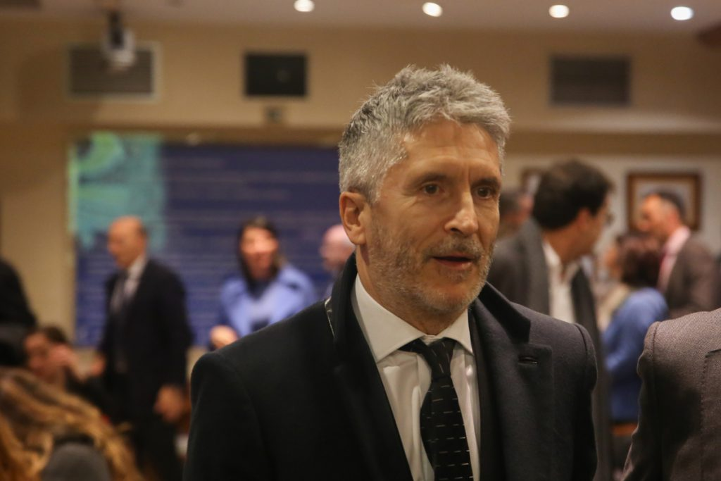 Cs pedirá cuentas a Marlaska esta semana en el Congreso por las «agresiones» de «populistas y nacionalistas»