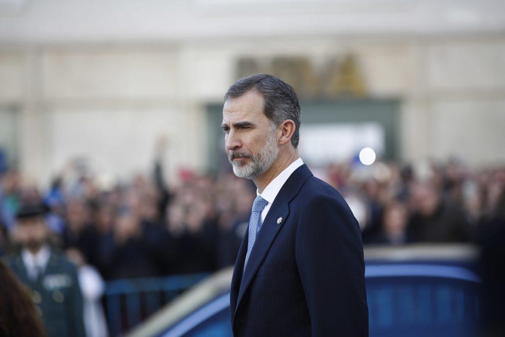 Felipe VI expresa sus condolencias a Iván Duque por el fallecimiento del expresidente colombiano Betancur