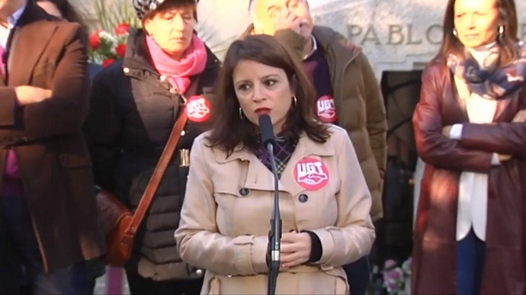 Lastra (PSOE) advierte de que la extrema derecha «engaña» a las clases sociales más bajas con su discurso