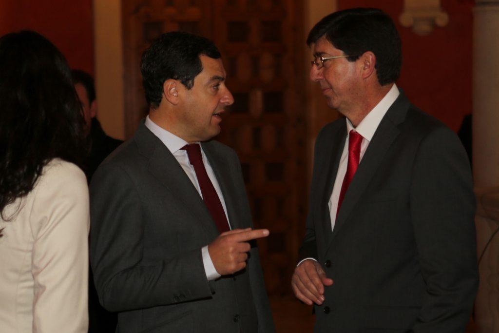 PP-A contactará esta semana con Cs para la negociación de un posible acuerdo tras el 2D