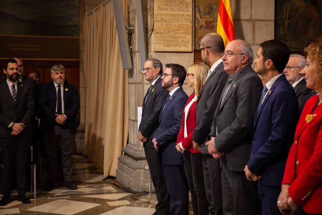Aragonès, sobre la vía eslovena propuesta por Torra: «No debemos quedarnos en un debate sobre el gentilicio»