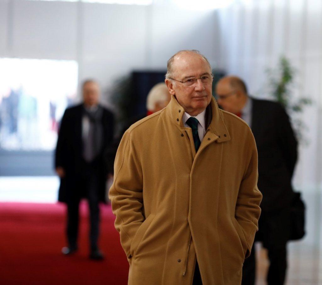 Economía recoloca los cuadros del Ministerio y retira el retrato de Rodrigo Rato de la zona noble