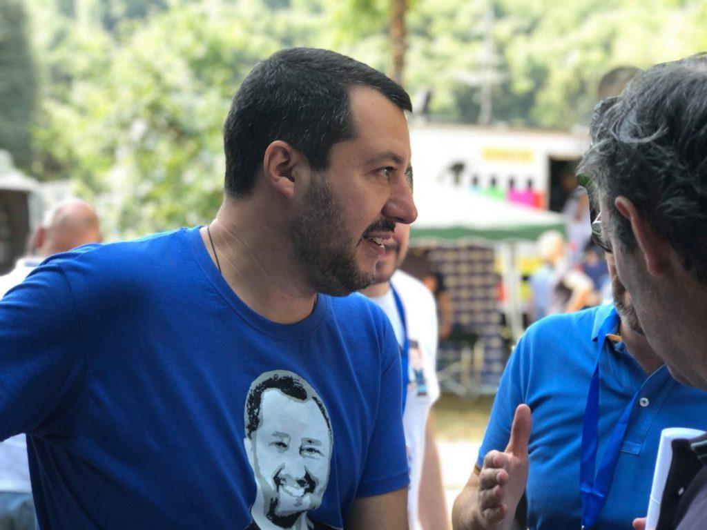 Salvini, el ministro italiano xenófobo, también apoya la llegada de Vox