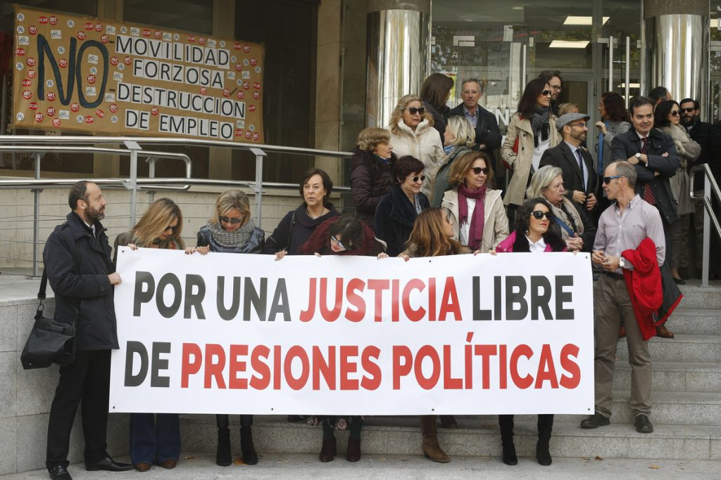 Asociaciones de jueces no creen que el cambio de elección de CGPJ que proponen PP y CS salga adelante en el Congreso