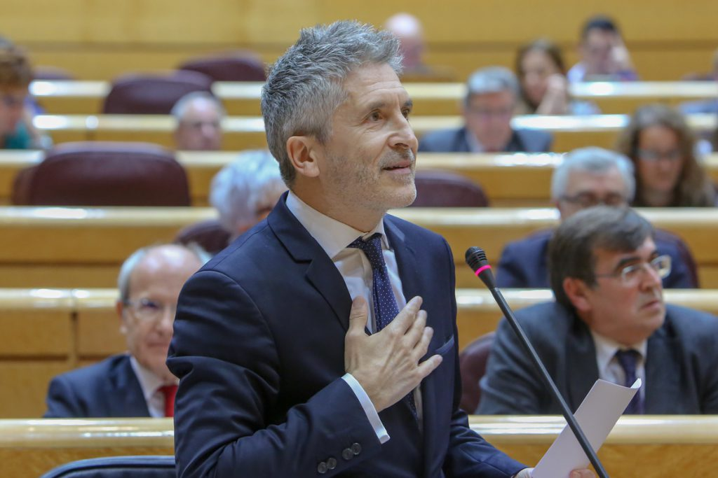 ERC pide negociar sobre los presos y Marlaska le invita a buscar el consenso «trabajando por la ciudadanía»