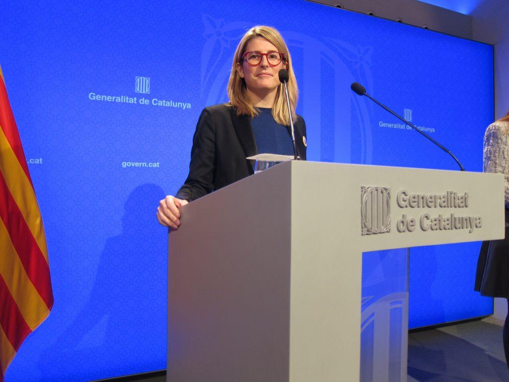 El Govern garantizará el derecho de reunión del Consejo de Ministros pero también el de protesta