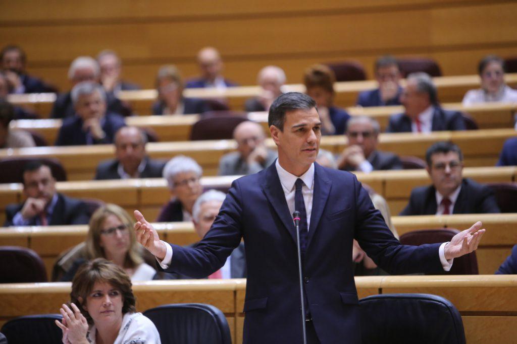 El PSOE pide aplazar a febrero la comisión de investigación de la tesis de Sánchez en el Senado