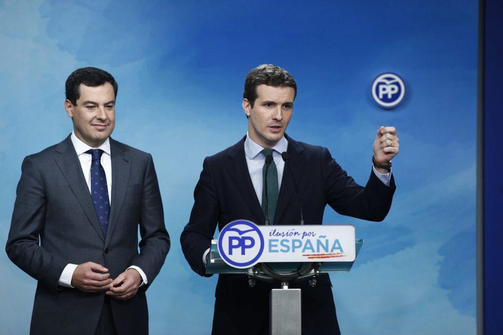 Pablo Casado sigue «con preocupación» el tiroteo en Estrasburgo y asegura que todos los eurodiputados del PP están bien