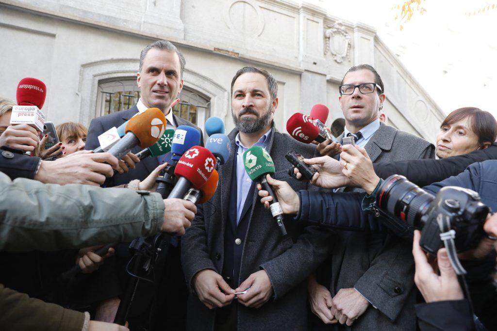 Vox, «a la expectativa» del acuerdo que puedan cerrar PP y Cs, espera que le llamen para hablar de sus propuestas