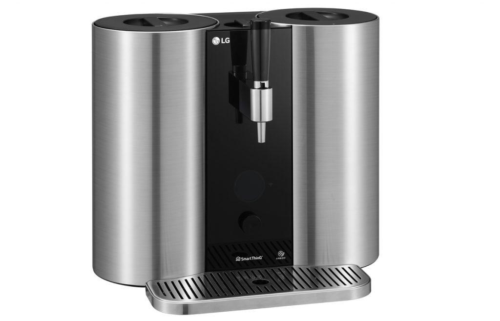 LG presentará en CES una máquina de elaboración casera de cerveza mediante cápsulas, el LG HomeBrew