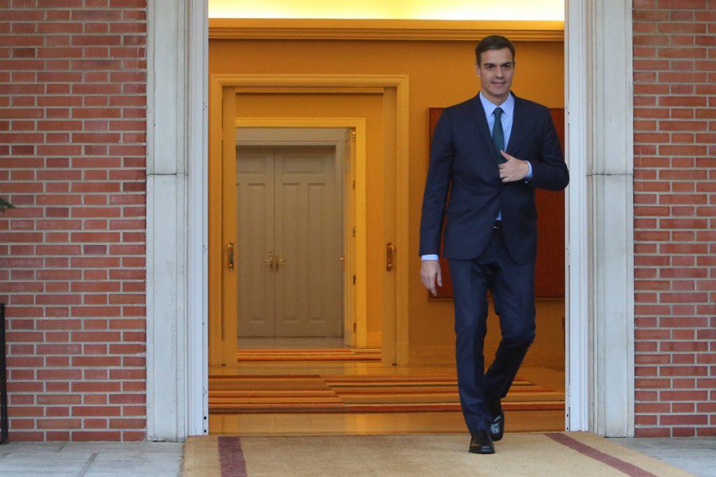 Sánchez prepara en Moncloa con los secretarios regionales del PSOE la estrategia para las municipales y autonómicas