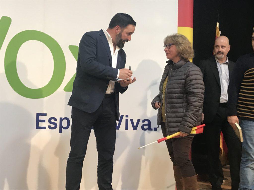 Abascal dice que el 'no' de Rivera a Vox en Andalucía «pone en riesgo el cambio» y es un insulto a sus votantes