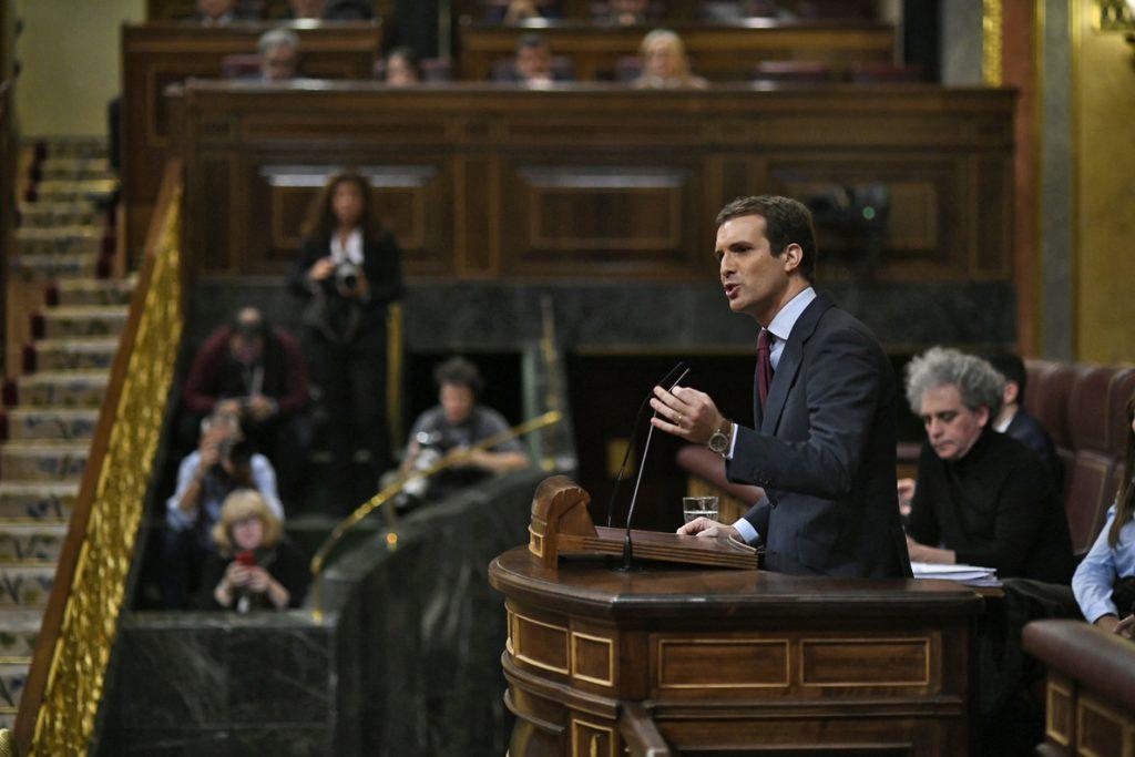 Casado pedirá en Bruselas cambiar la euroorden para garantizar la entrega a España de huidos como Puigdemont