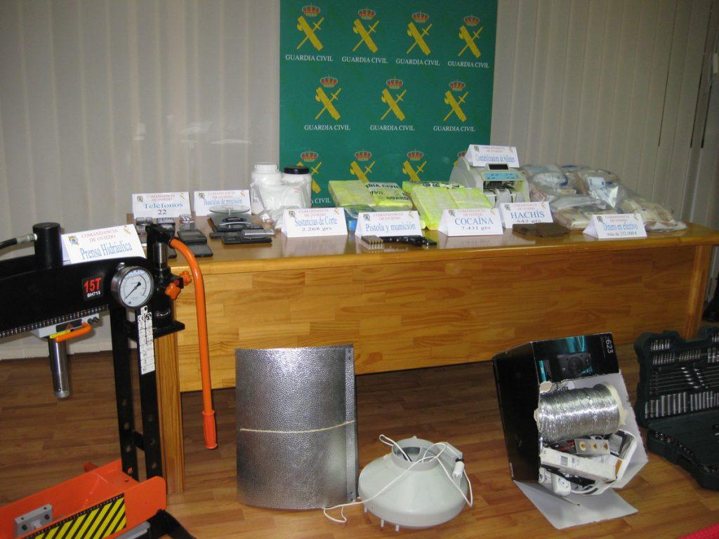 El Consejo de Ministros aprobará mañana distribuir más de 35 millones procedentes de decomisos por tráfico de drogas