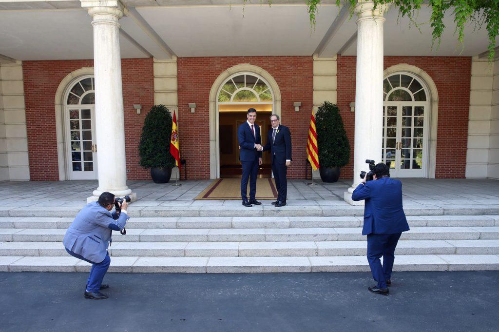 Sánchez sigue dispuesto a tener una reunión política con Torra el 21 de diciembre en Barcelona