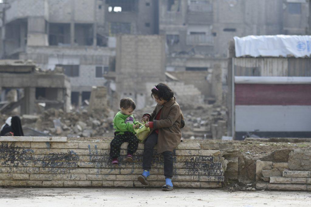 UNICEF denuncia que la mitad de los niños de Siria solo conocen la guerra