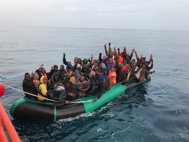Unos 55.200 migrantes han llegado a España por el Mediterráneo en lo que va de año