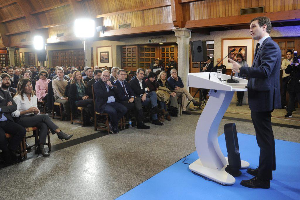 Casado achaca la «conversión» de Pablo Iglesias con Venezuela al resultado en Andalucía y que «ya no cuela» su populismo