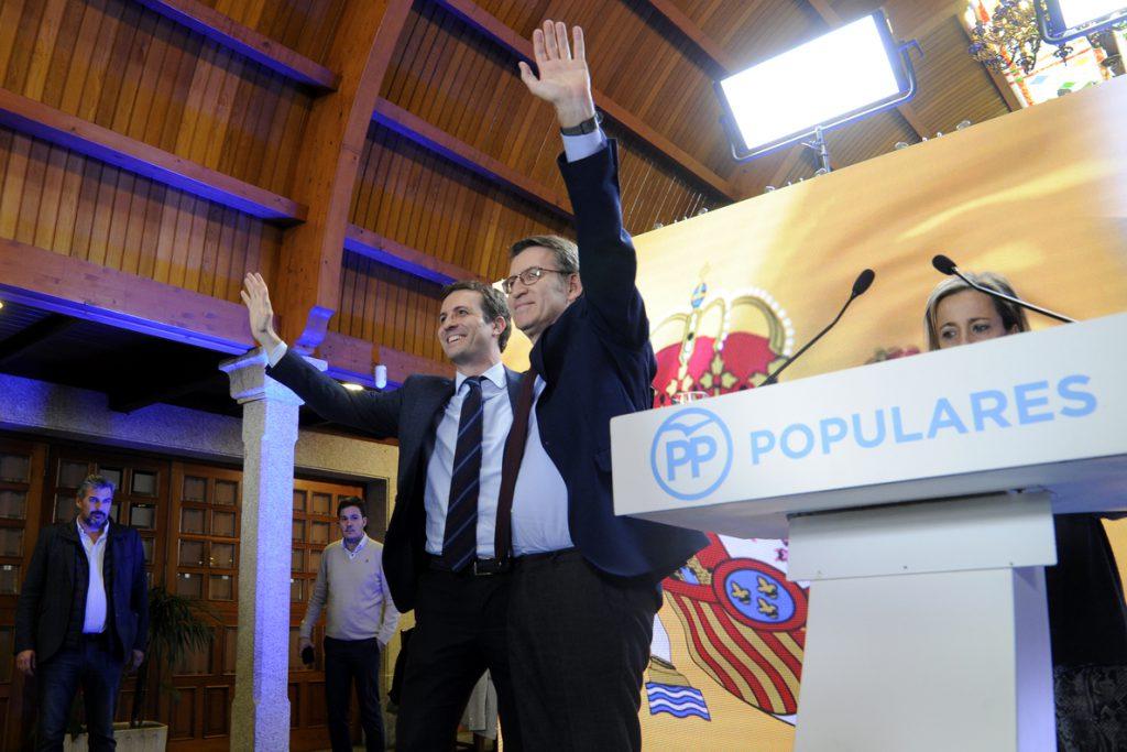 Feijóo sobre Cataluña: el Gobierno no actúa por «cobardía» y está «maniatado por los independentistas»