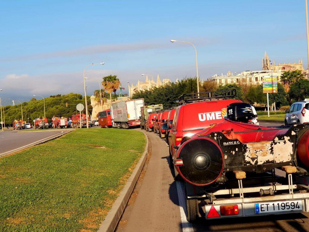 El Gobierno da el visto bueno a los 43.800 euros que gastó la UME para atender las inundaciones en Mallorca en octubre