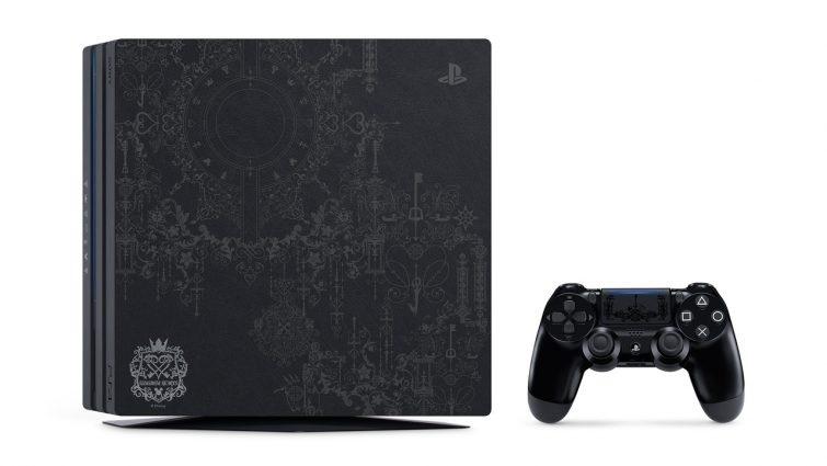 PlaySation anuncia una edición limitada de PS4 Pro con Kingdom Hearts 3