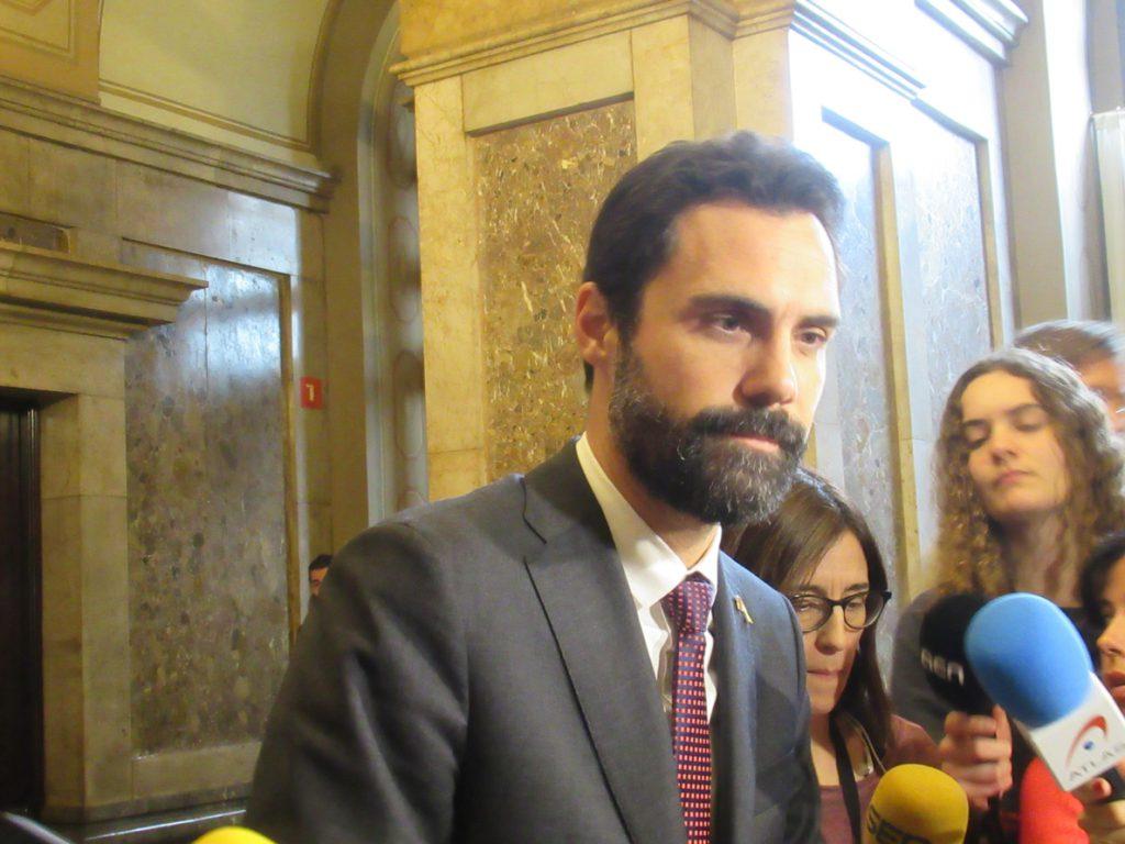Torrent: «La República no se construye en ningún caso con pasamontañas ni encapuchados»