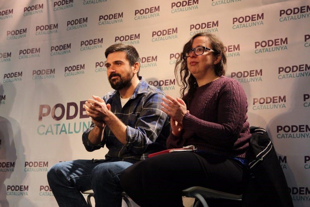 Espinar (Podemos) pide a Sánchez y Torra que aclaren sus soluciones para Cataluña