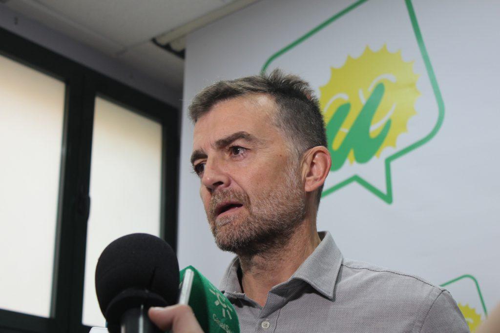 Maíllo dice que IU-CA hará autocrítica del 2D pero defiende la continuidad de Adelante Andalucía para las municipales