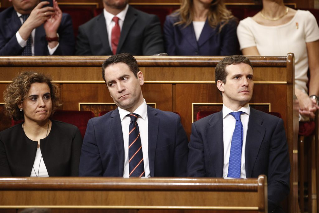 PP cree que «está en duda» que el PSOE diga que es un partido que «promueve el cumplimiento de la legalidad»