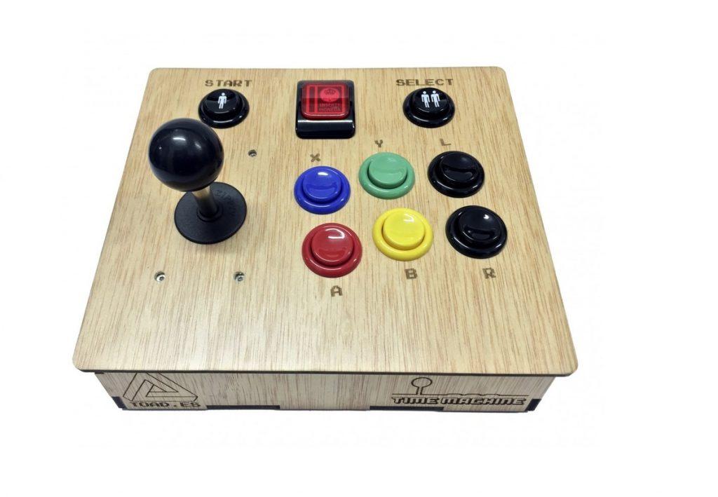 Time Machine V3+ revive la nostalgia de las arcade con un diseño retro y amplias posibilidades de personalización