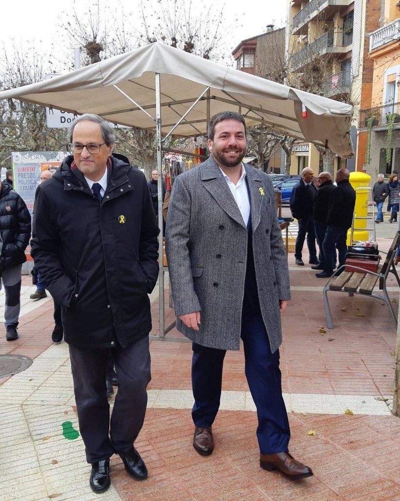 Torra dice que garantizará la seguridad del Consejo de Ministros y «la libertad de concentración»