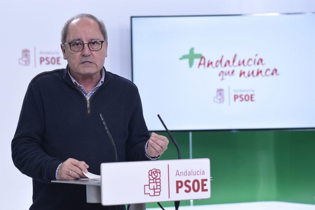 PSOE espera que los «inocentes» del caso ERE vean pronto una solución y se acabe con una situación «tan dura»