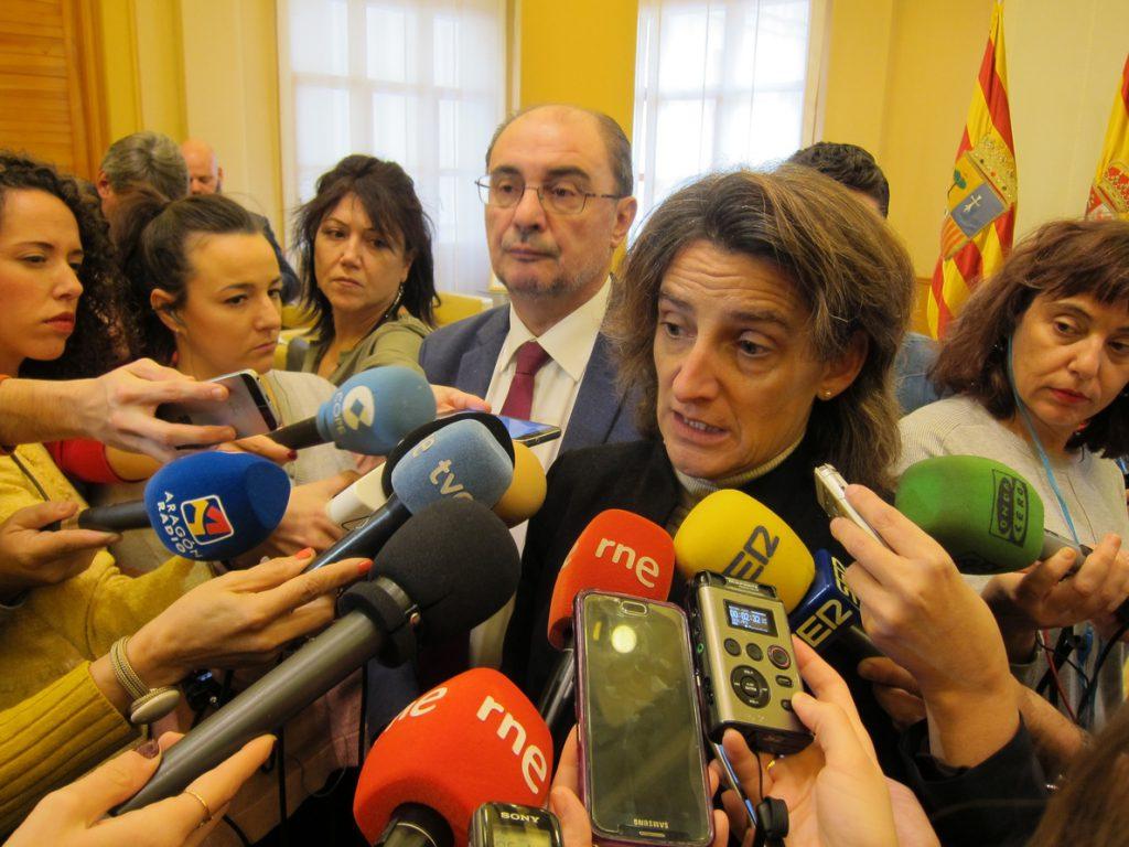 Ribera dice que Endesa debe garantizar un plan de inversiones para que las cuencas mineras no se queden atrás
