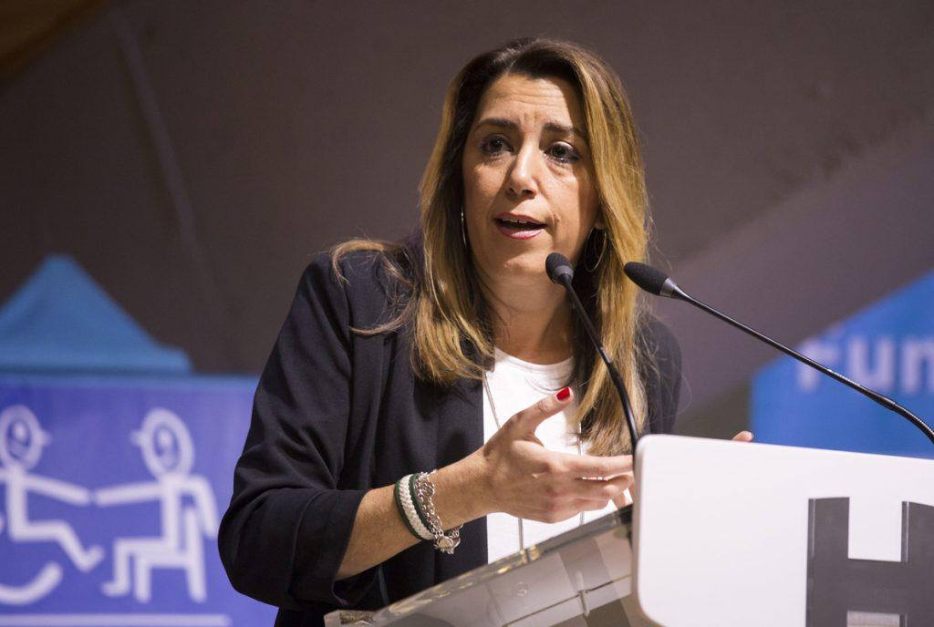 Susana Díaz ve «intolerables» las «amenazas» contra Morante de la Puebla en su finca por su apoyo a Vox