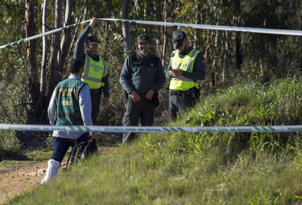 El juez ordena el levantamiento del cadáver de Laura Luelmo tras la identificación oficial del equipo de Criminalística