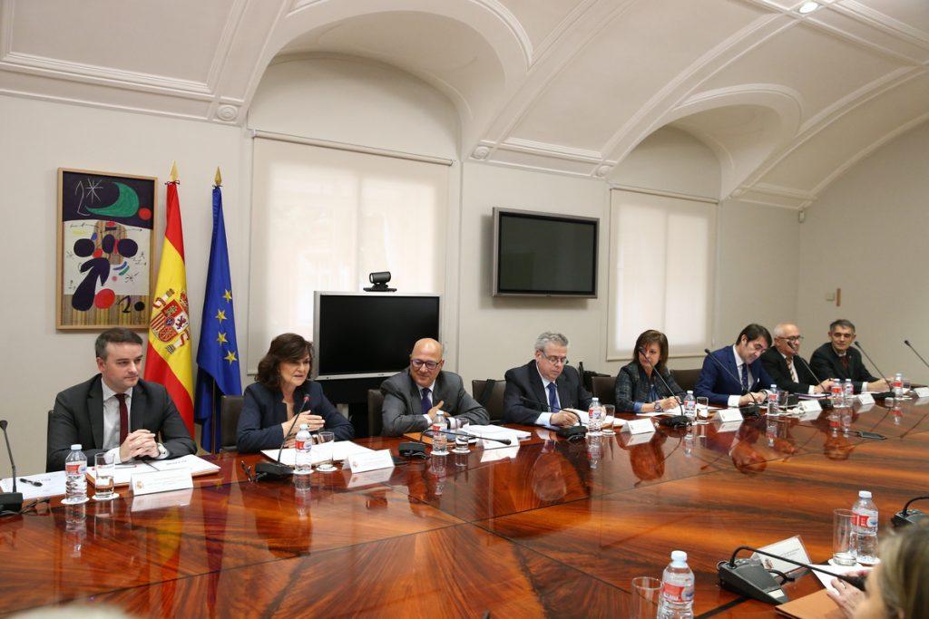 Calvo preside la Conferencia Sectorial de Seguridad Nacional, que busca crear un foro de diálogo con administraciones