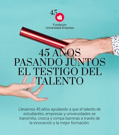 Fundación Universidad-Empresa cumple 45 años con más de 100.000 universitarios con prácticas académicas externas