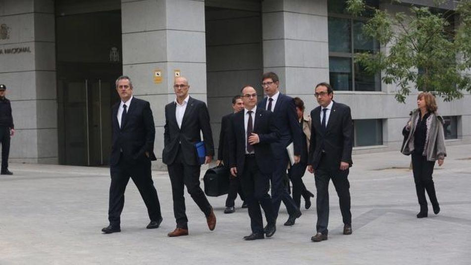 La Fiscalía avisa: la»diana» del «ataque» independentista fue el Estado constitucional