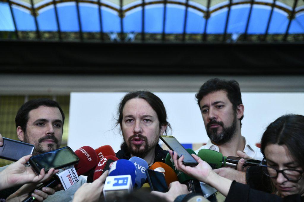 Pablo Iglesias afea al Gobierno que no les haya llamado para explicarles la senda de estabilidad y pedirles su apoyo